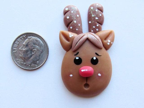 Needle Minder - Rudy Reindeer (Clay)