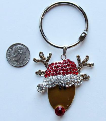 BLING! Floss Ring ~ Rudolph