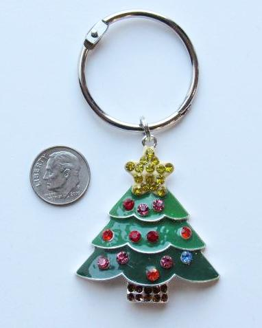 BLING! Floss Ring ~ Christmas Tree