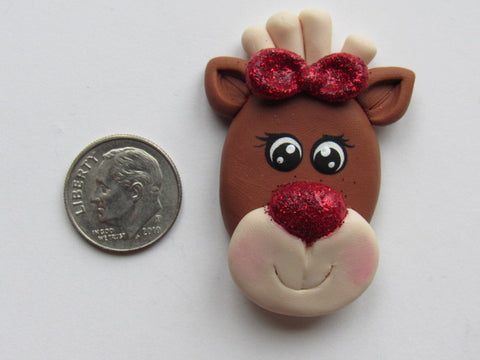 Needle Minder ~ Rudy Reindeer (Clay)