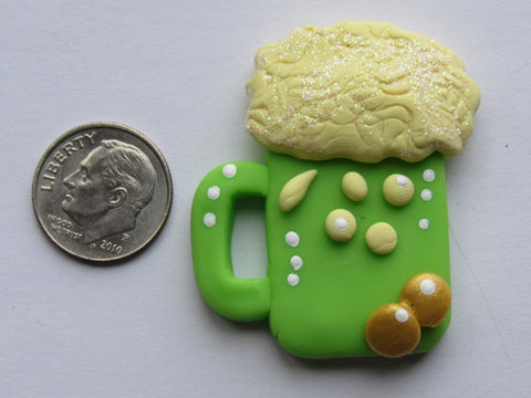 Needle Minder - Lucky Beer (Clay) ONE OF A KIND!