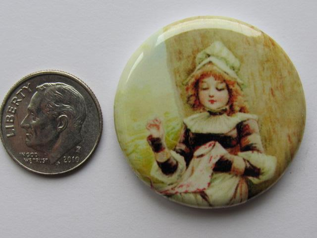 "1.25"" Button Magnet ~ First Stitches"