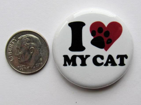"1.25"" Button Magnet ~ Cat #11"