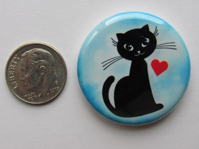 "1.25"" Button Magnet ~ Cat #3"