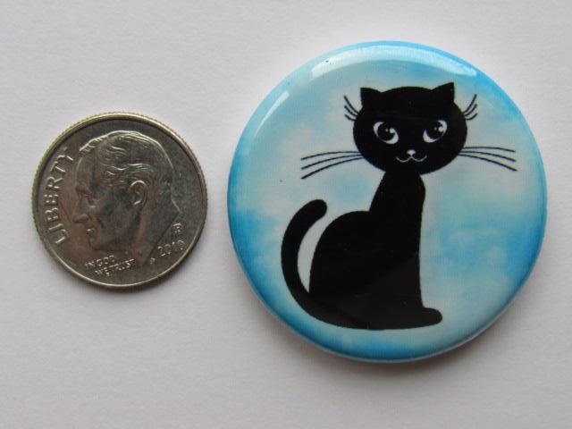 "1.25"" Button Magnet ~ Cat #5"