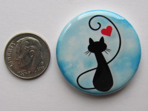 "1.25"" Button Magnet ~ Cat #10"