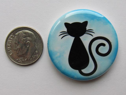 "1.25"" Button Magnet ~ Cat #8"