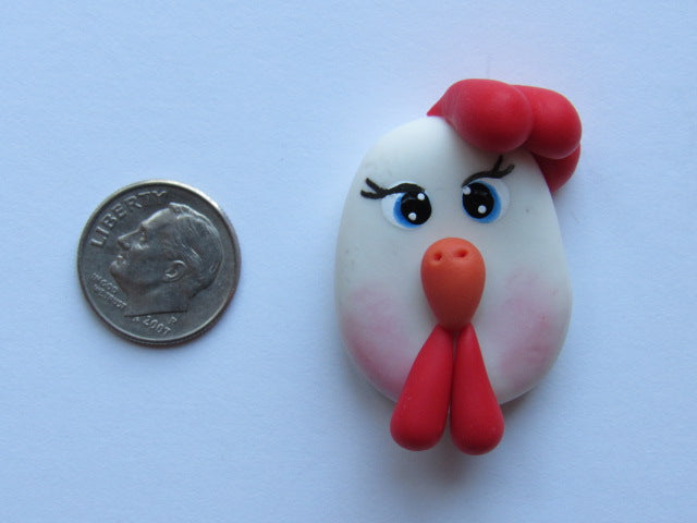 Needle Minder - Chicken (Clay)