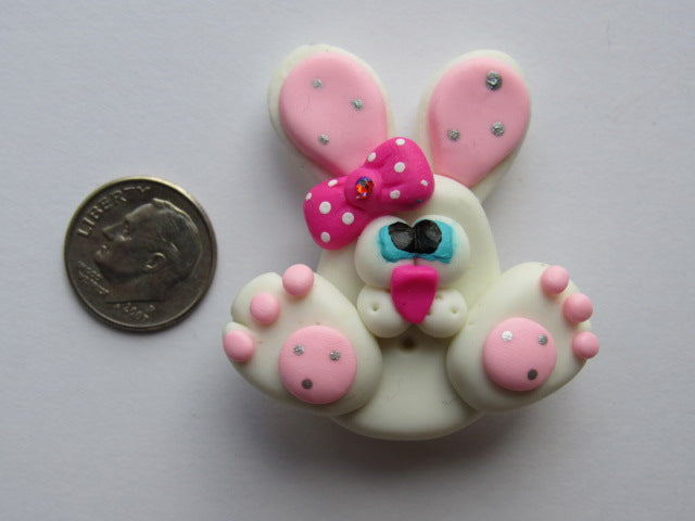 Needle Minder - Bunny Paws (Clay)