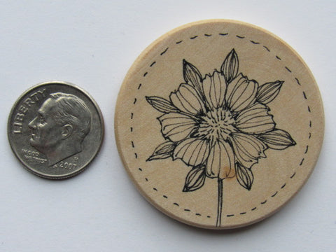 Michelle Palmer Needle Minder ~ Sunny Blossom A1 (One of a Kind!)