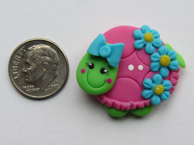 Needle Minder ~  Taffie Turtle (Clay)
