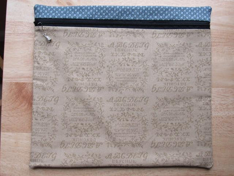 Project Bag ~ One of a Kind ~ Moda Alphabet Sampler #1