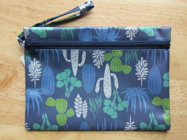 Accessory Bag ~ Succulents