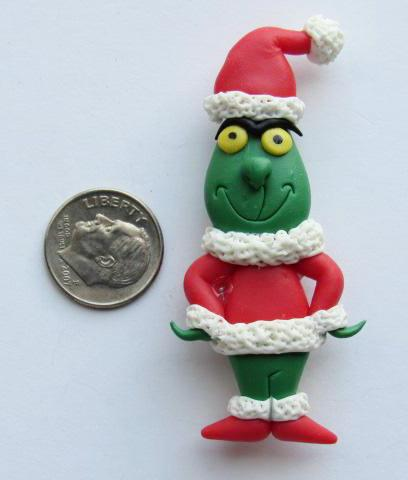 Needle Minder - The Grinch (Clay) **VERY LIMITED # AVAILABLE!