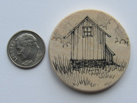 Michelle Palmer Needle Minder ~ Down on the Farm A4 (One of a Kind!)