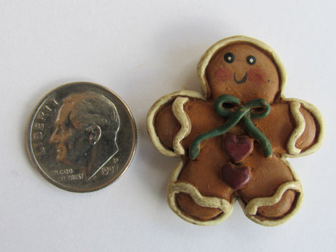 Needle Minder  ~ Gingerbread Man