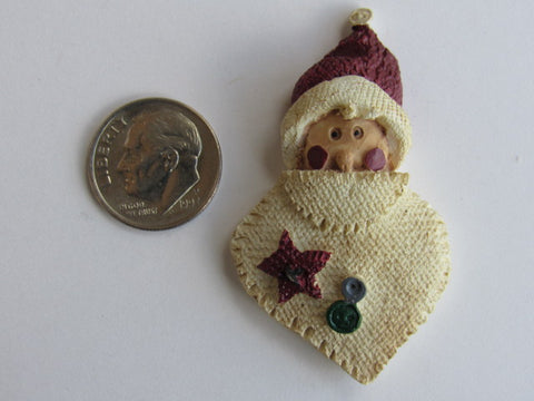 Needle Minder  ~ Country Santa Face