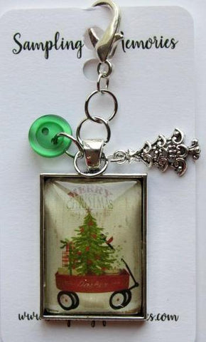 Sampling of Memories ~ Wagon w/Tree Scissor Keep (Very Limited # in-stock!)