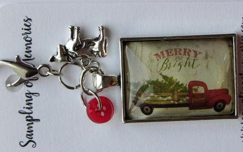 Sampling of Memories ~ Truck w/Tree Scissor Keep (Very Limited # in-stock!)