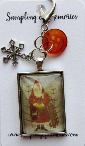 Sampling of Memories ~ Santa w/Sled Scissor Keep (Very Limited # in-stock!)