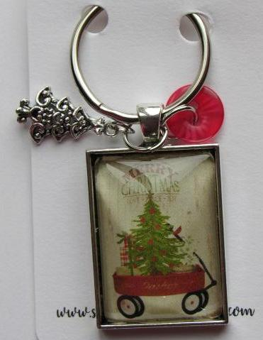 Sampling of Memories ~ Wagon w/Tree Thread Keep (Very Limited # in-stock!)