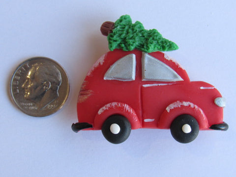 Needle Minder ~ Tree Shopping! (CLAY)