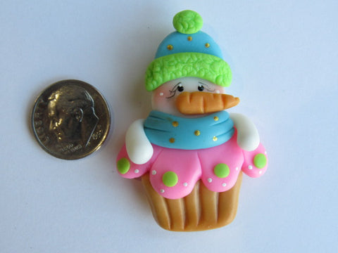 Needle Minder - Frosty's Cupcake (Clay)