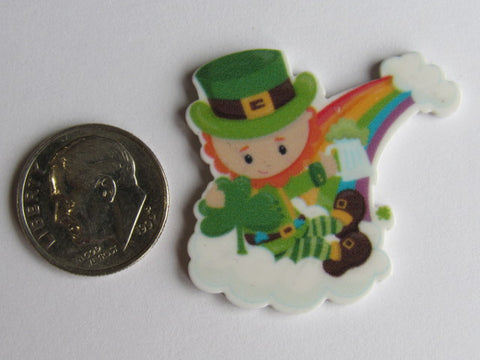 Needle Minder ~  Rainbow Leprechaun