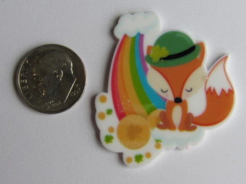 Needle Minder ~  Fox Leprechaun