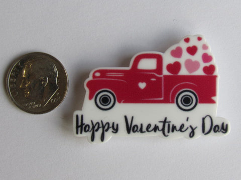 Needle Minder ~ V-Day Red Truck w/Hearts