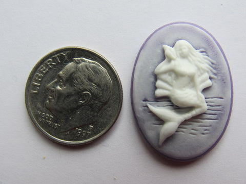 Needle Minder ~ Purple Mermaid Cameo
