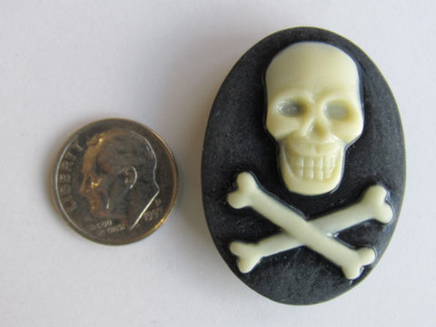 Needle Minder ~ Skull & Cross Bones  **very limited # available