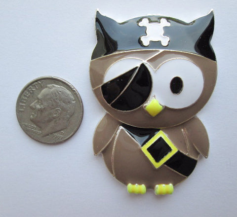 Needle Minder ~ Pirate Owl