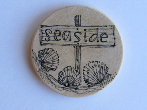 Michelle Palmer Needle Minder ~ Seaside (One of a Kind!)