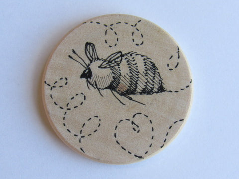 Michelle Palmer Needle Minder ~ Sweet Bee F1 (One of a Kind!)