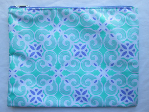 Project Zipper Bag ~ Sea Tile