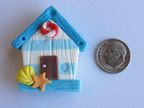 Needle Minder ~ Beach Cabana (Clay) ONE OF A KIND!