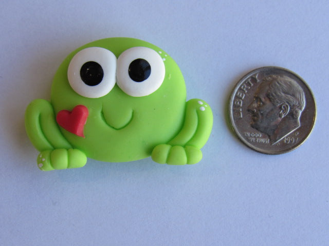 Needle Minder ~ Frog With Heart
