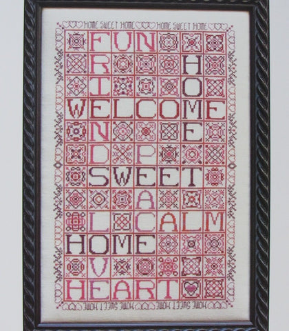 Rosewood Manor ~ Homewords ~ Pattern with Sulky Floss Pack