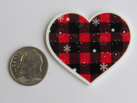 Needle Minder ~ Buffalo Plaid Heart