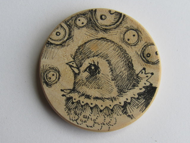 Michelle Palmer Needle Minder ~ Birdie A9 (One of a Kind!)