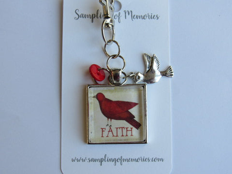 Sampling of Memories ~ Cardinal FAITH Scissors Keep