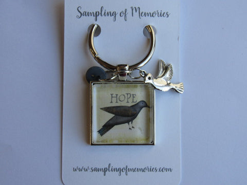 Sampling of Memories ~ Bird HOPE Thread Keep