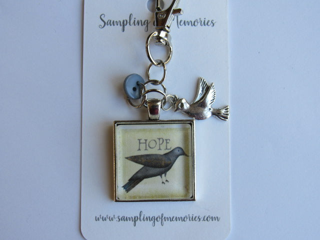 Sampling of Memories ~ Bird HOPE Scissors Keep