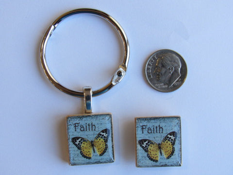 DSL Exclusive Floss Ring & Needle Minder SET ~ Faith