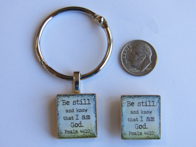 DSL Exclusive Floss Ring & Needle Minder SET ~ Be Still