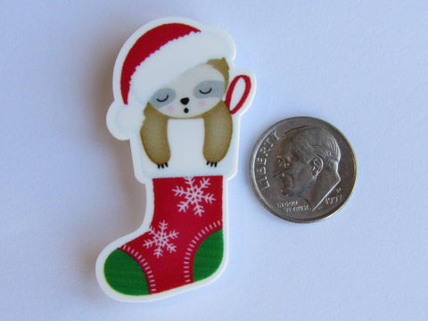 Needle Minder  ~ Sleepy Sloth Stocking