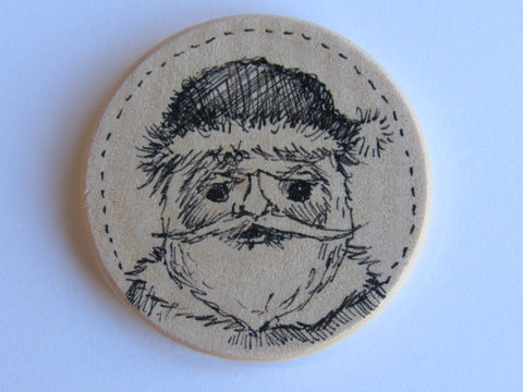 Michelle Palmer Needle Minder ~ Santa N3 (One of a Kind!)
