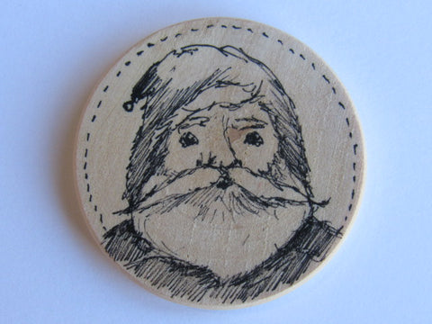 Michelle Palmer Needle Minder ~ Santa N1 (One of a Kind!)
