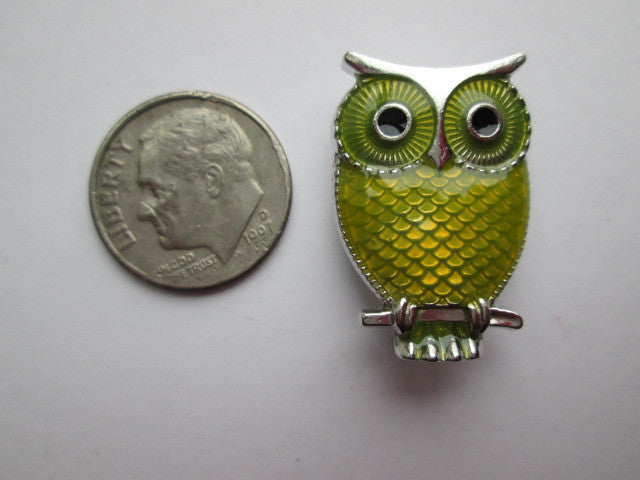 Needle Minder ~ Yellow Owl
